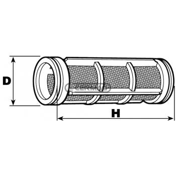 филтърен елемент 107x200 mm